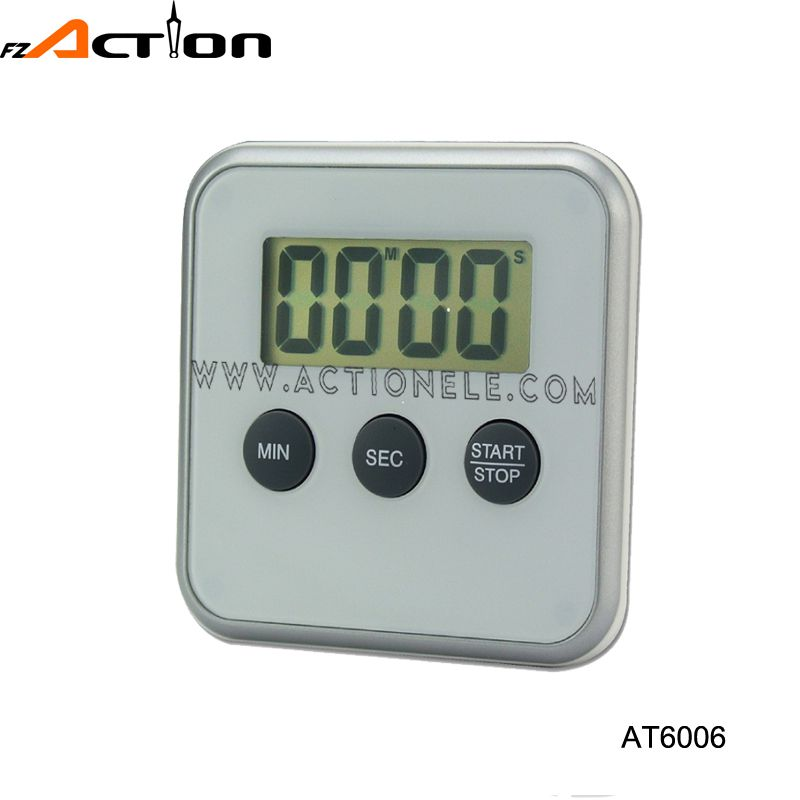 digital timer with count up and down