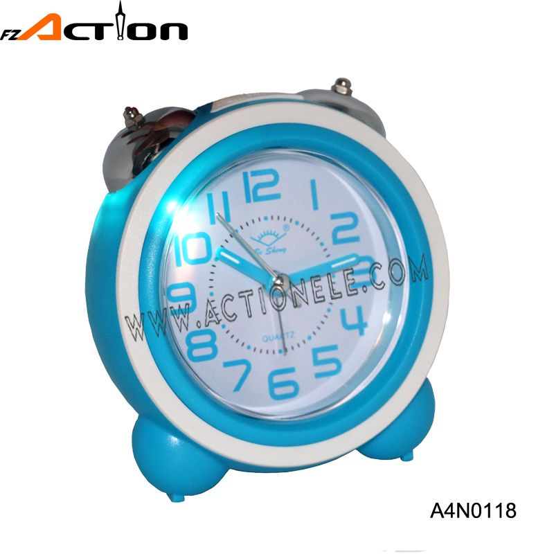 Analog Table Alarm Clock with Twin Bell