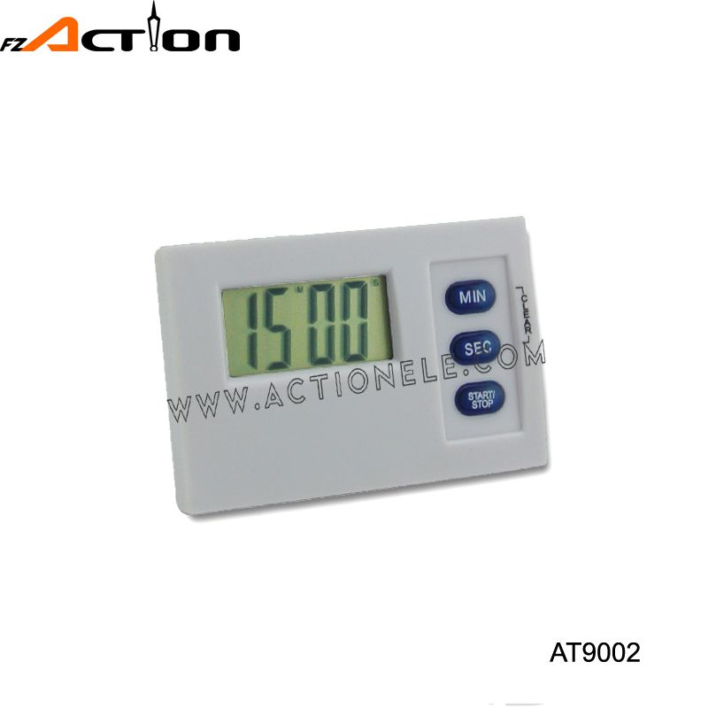 Portable small digital count up down timer