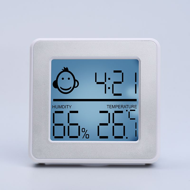 Room Hygrometer Thermometer For Baby Room Temperature Humidity Moisture Monitor, Digital Easy Ins